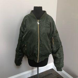 baby phat kimora lee simmons bomber jacket Large